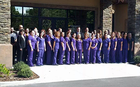 The Central Florida Eye Specialists Team